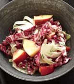 radicchio fennel slaw