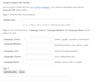 The PPC Toolbox, Part 1: Tracking, Bulk Editing, and Keyword Expansion image google analytics URL builder