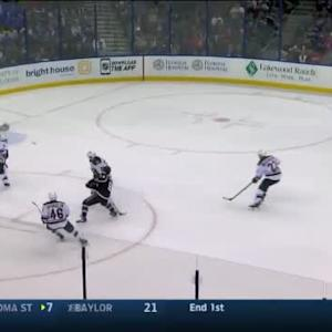 Darcy Kuemper Save on Tyler Johnson (10:20/2nd)