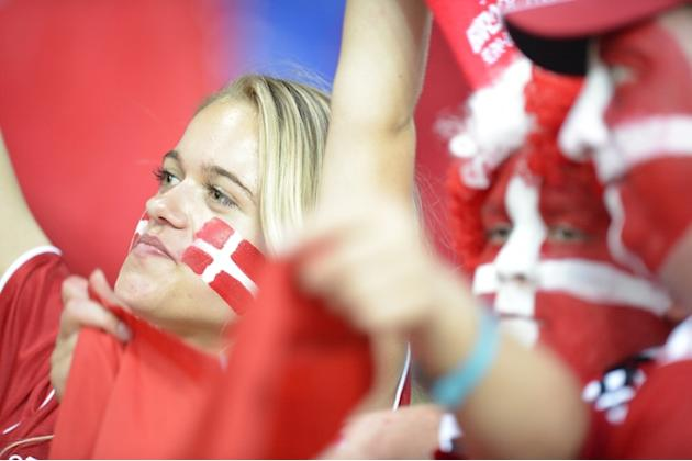 Danish Fans AFP/Getty Images