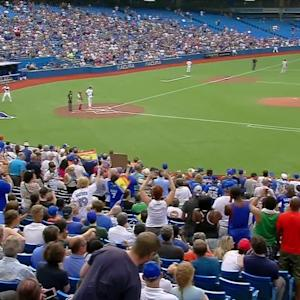 Tulo's warm welcome to Toronto