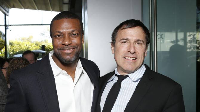 Chris Tucker and David O. Russell attend the Film Independent Spirit Awards Luncheon at BOA Steakhouse on Saturday, Jan. 12, 2013, in West Hollywood, Calif. (Photo by Todd Williamson/Invision/AP)