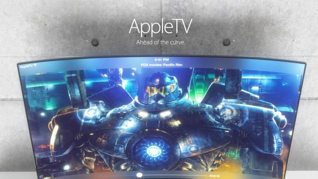 Apple TV meets iMac in these gorgeous iTV concepts