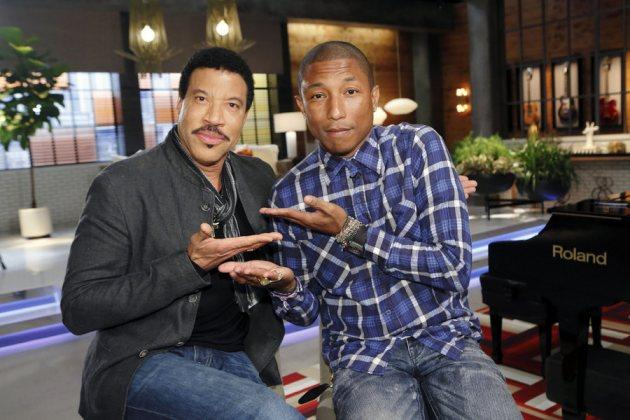 Pharrell & Lionel's 'Voice' Lessons