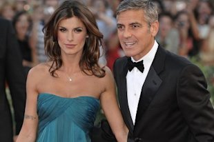 George and Elisabetta in happier times.