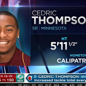 Miami Dolphins pick safety Cedric Thompson No. 150 in 2015 NFL Draft