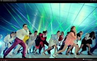 Screenshot from the vieo &quot;PSY - GANGNAM STYLE () M/V&quot;