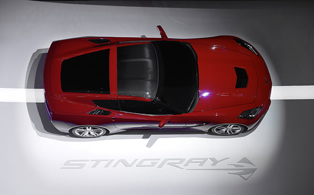 2014 Chevrolet Corvette Stingray (AP Photo/Paul Sancya)