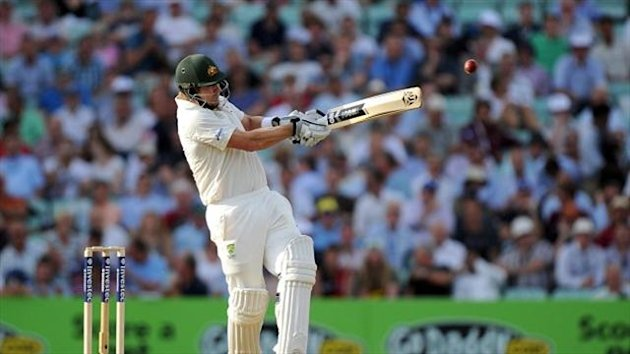 Shane Watson hit a superb 176 for the Australians