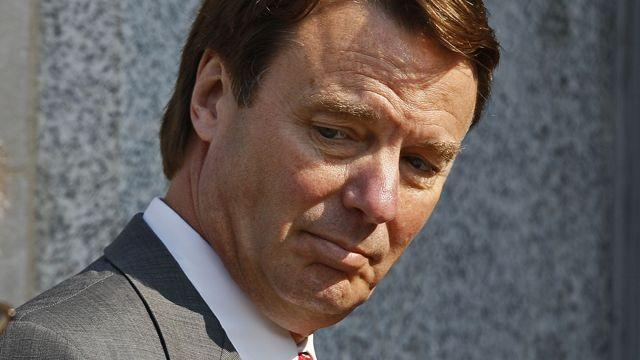 Reports of alternate juror flirting with John Edwards