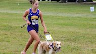 Teen Blinded by Stargardt's Disease Chases Dreams With Guide Dog (ABC News)