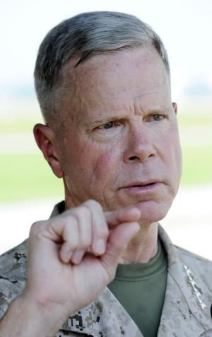 Marines head shares skepticism on women in combat