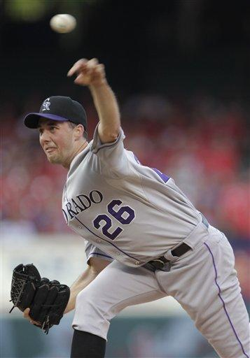 Francis solid, Rockies beat Cardinals 3-2