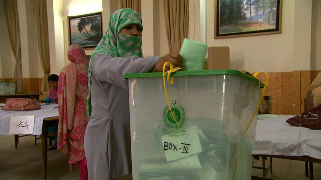 Historic national election in Pakistan