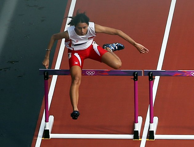 Dipna competes at the London 2012 Olympic Games on August 6, 2012. (Getty Images)
