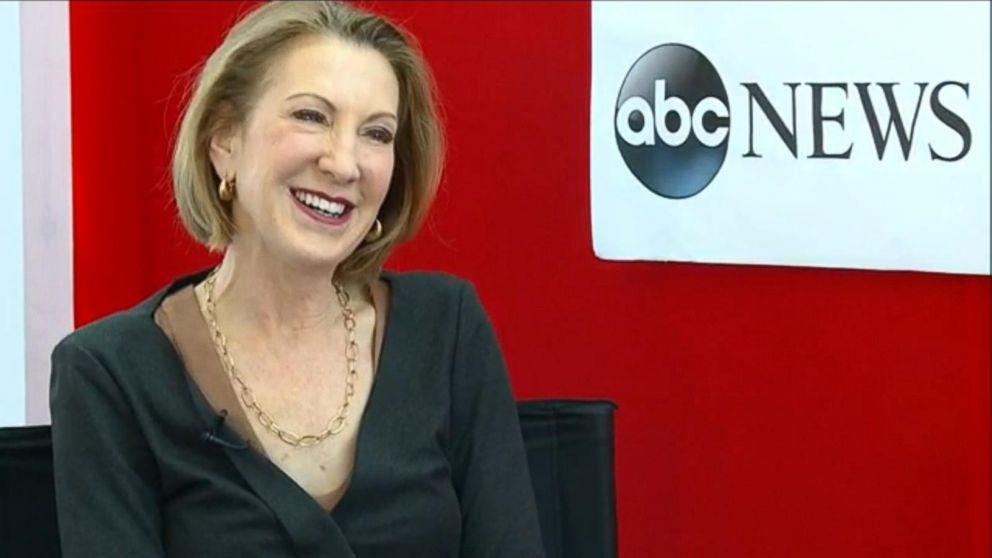Carly Fiorina Accuses Hillary Clinton of Playing an 'Imitation' Game