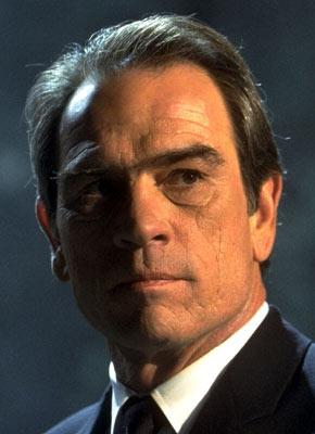 Tommy Lee Jones in Columbia Pictures' Men in Black