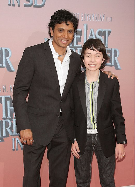 The Last Airbender NY Premiere 2010 M. Night Shyamalan Noah Ringer