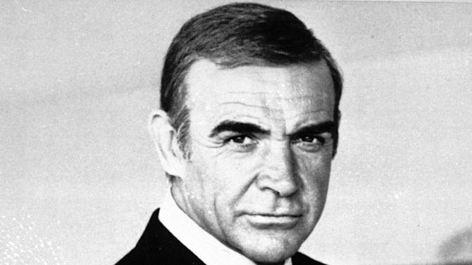 "FILE - This undated file photo shows Sean Connery as James Bond in ""Never Say Never Again"". The film ""Never Say Never Again,"" a 1983 remake of ""Thunderball,"" has its ironic title, because it brought Connery back as Bond after a 12-year hiatus. (AP Photo/File)  **NO SALES** zu unserem Korr **"