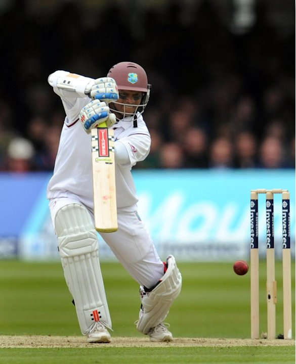 Shivnarine Chanderpaul's unbeaten 43 led the West Indies over the line