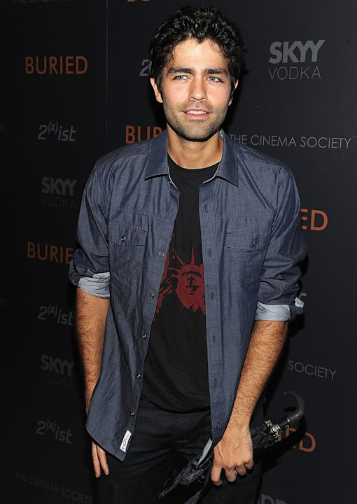 Buried NY Screening 2010 Adrian Grenier