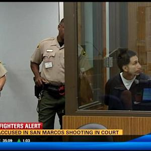 Man accused in San Marcos shooting in court
