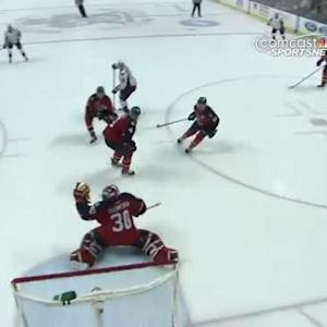 Nicklas Backstrom fires one top-shelf
