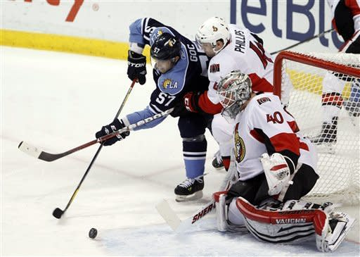 Panthers rally to beat Senators 4-2