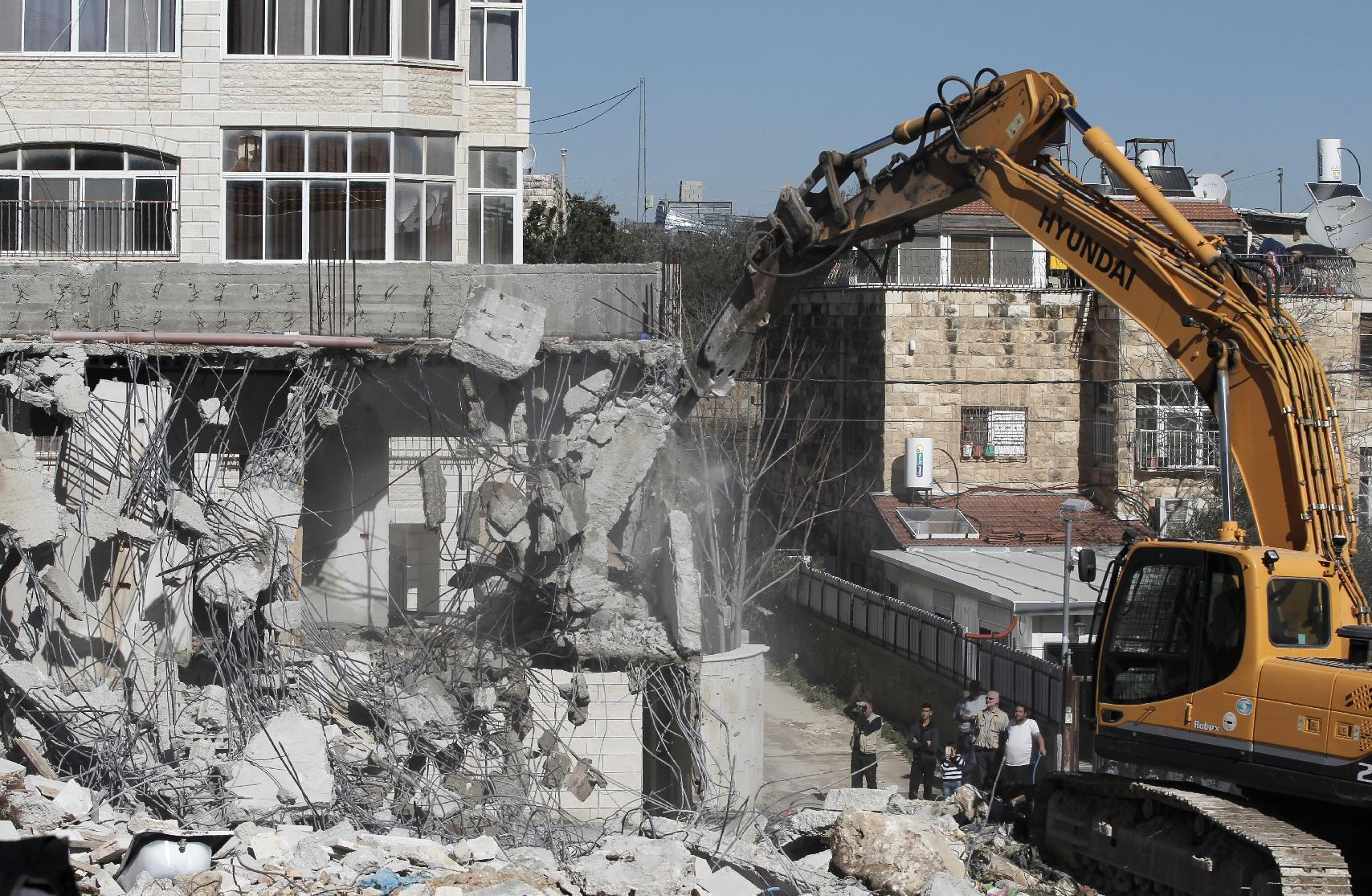 UN accuses Israel of razing homes of 77 Palestinians
