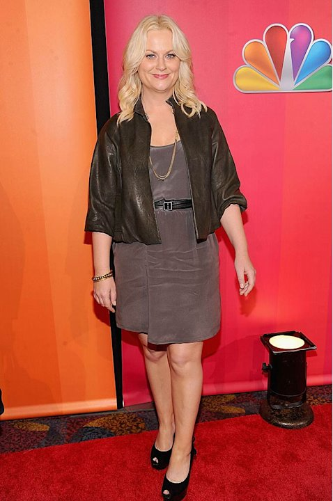 Amy Poehler NBC Upfronts
