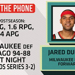Jared Dudley on playing against the Bulls