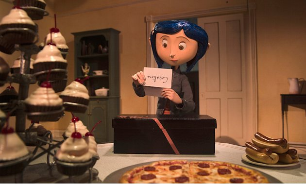 Coraline Production Stills 2009 Focus Features Dakota Fanning