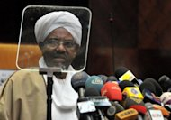 <p>Sudanese President Omar al-Bashir is seen on June 18. Khartoum has seen an outburst of social unrest in the past week, driven by rampant inflation and simmering discontent, with the regime determined to crush a movement led by Sudanese students that has strong historical resonance.</p>