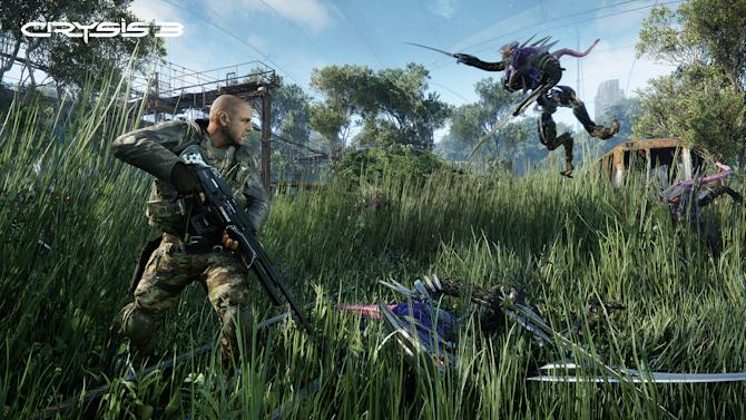 "This video game image released by Electronic Arts shows a scene from ""Crysis 3."" (AP Photo/Electronic Arts)"