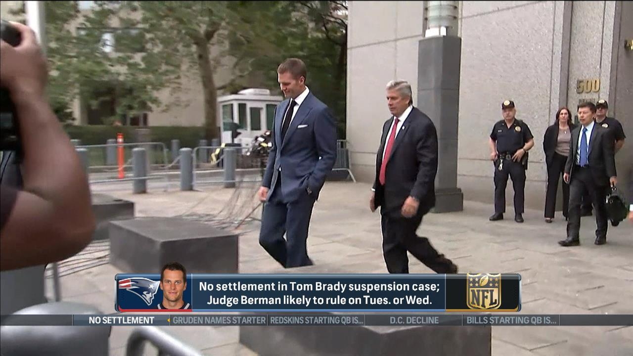 No Deflategate settlement reached during brief hearing