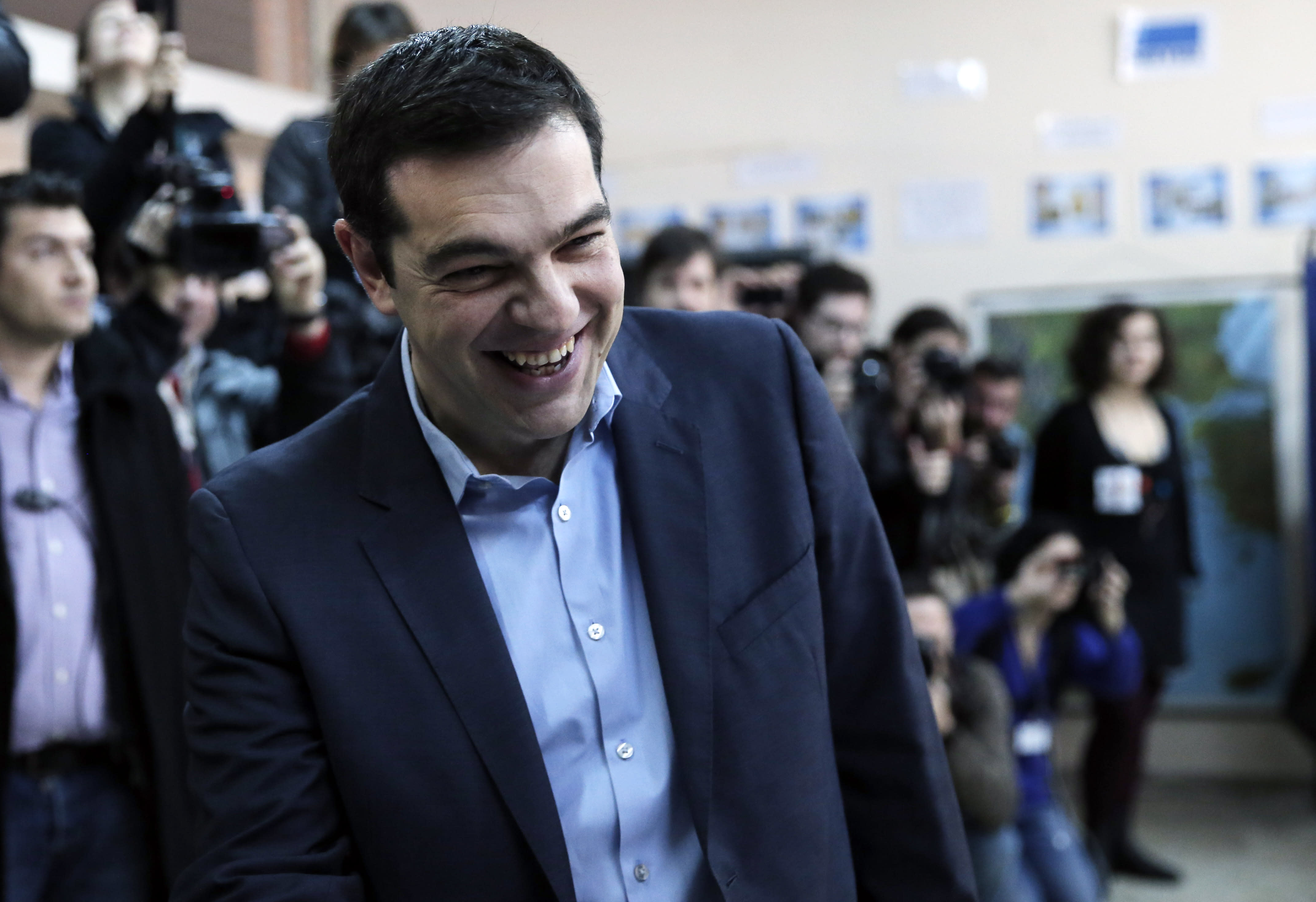 Greece's anti-bailout Syriza party wins landmark election
