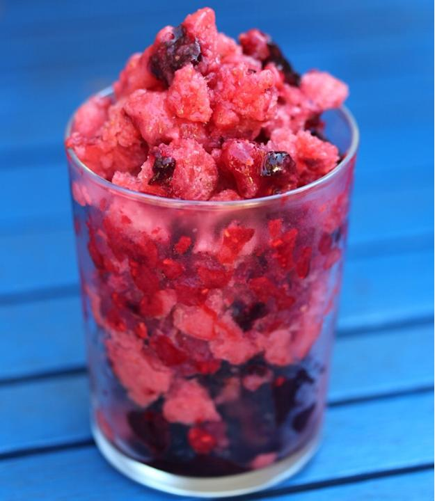 Shaved Berry Ice