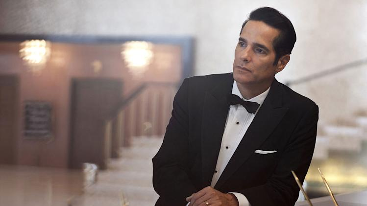 "Yul Vasquez stars as Victor Lazaro in ""Magic City."""