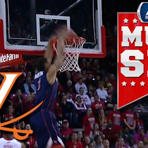 Virginia's Justin Anderson Throws Down Big 2-Handed Jam | ACC Must See Moment
