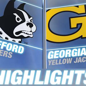 Wofford vs Georgia Tech | 2014 ACC Football Highlights