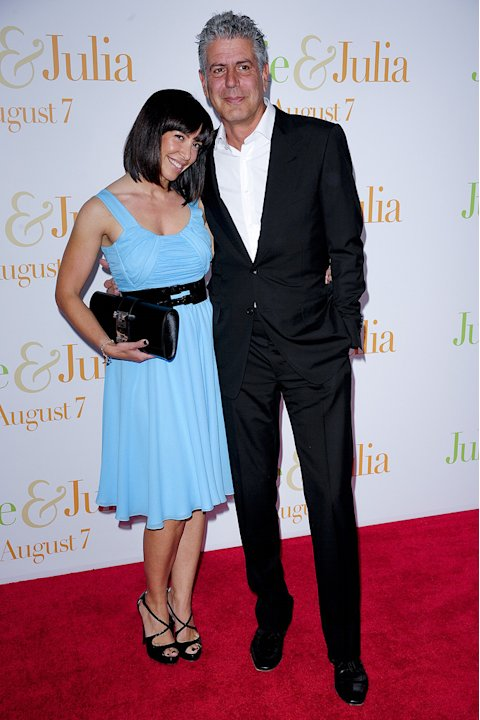 Julie and Julia NY Premiere 2009 Anthony Bourdain