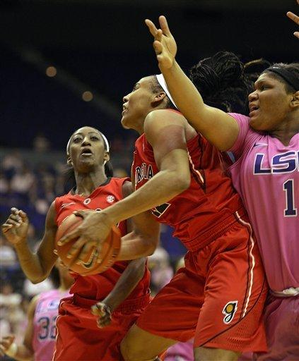 Plaisance leads LSU past No. 9 Georgia, 62-54