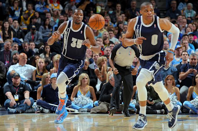 Oklahoma City Thunder v Denver Nuggets