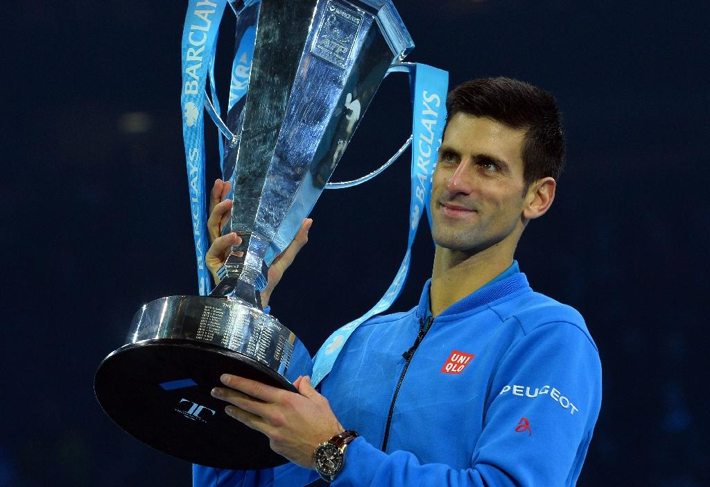 Djokovic top of the world at the end of the year