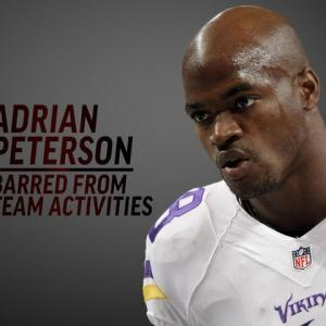 Vikings Bar Peterson From All Team Activities