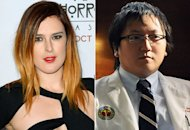 Rumer Willis, Masi Oka | Photo Credits: Frazer Harrison/Getty Images, Neil Jacobs/CBS