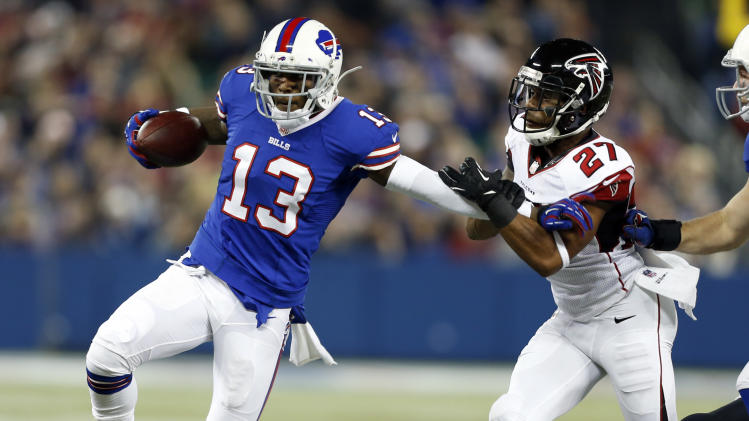 Buffalo Bills trade WR Johnson to 49ers