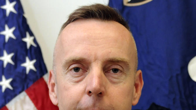 FILE - This undated file photo provided by the U.S. Army shows Brig. Gen. Jeffrey A. Sinclair. Sinclair, fired from his command in Afghanistan in May 2012 and now facing a court-martial on charges of sodomy, adultery and pornography and more, is just one in a long line of commanders whose careers were ended because of possible sexual misconduct. (AP Photo/U.S. Army, File)