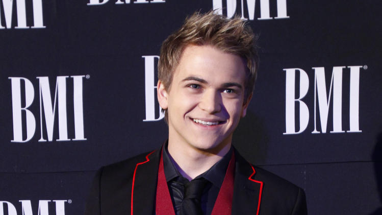 Hunter Hayes arrives at the 60th Annual BMI Country Awards on Tuesday Oct. 30, 2012, in Nashville, Tenn. (Photo by Wade Payne/Invision/AP)