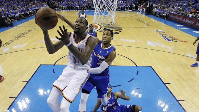 Thunder star Kevin Durant wins first MVP award